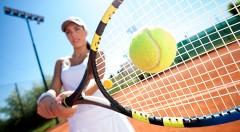 Zľava 42%: Dostaňte svoje telo do formy vďaka tenisu - prenájom tenisového kurtu v Petržalke už od 3,50 € na 1, 5 alebo 10 hodín. Na výber i variant s hrou s profesionálnym trénerom!