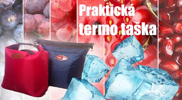 """Fotka zľavy: Štýlová termo taška len za 5,99 € vám ponúka elegantný spôsob, ako mať """"energiu"""" stále po ruke! Spríjemní pracovný deň, výlety či piknik v prírode, ale oceníte ju aj na dovolenke."""