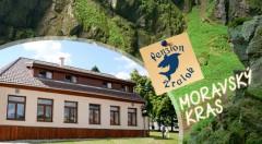 Zľava 35%: Nádherné jaskyne, malebná príroda, westernové mestečko, chutné raňajky a večera i fľaša vínka - Penzión Žralok už od 62 € pre dvoch. Vaše nezabudnuteľné letné zážitky v Moravskom krase!