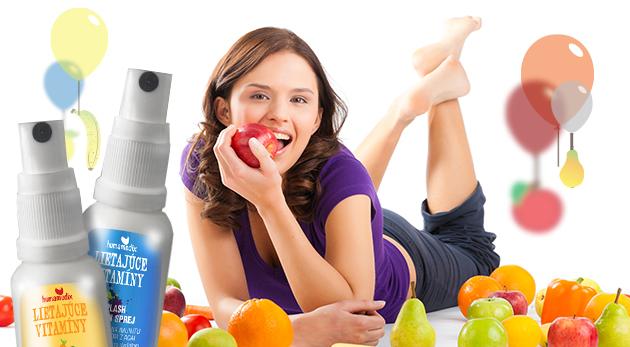 Fotka zľavy: Skoncujte s jarnou únavou a zásobte sa energiou! Lietajúce vitamíny v spreji pre deti i dospelých len za 6,78 € vrátane poštovného a balného. 9 x účinnejšia aplikácia ako tablety a príjemná chuť!