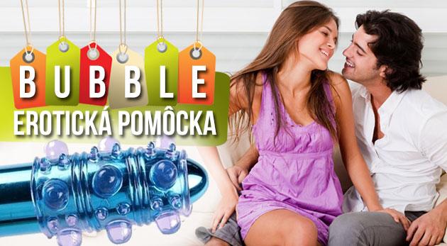 Fotka zľavy: Vzrušujúci návlek na penis BUBBLE s bublinkovými výstupkami pre odvážnych milovníkov len za 2,99 €. Okoreňte si chvíle s partnerkou pre ešte väčšiu rozkoš a zábavu. Akcia 3+1 zadarmo!