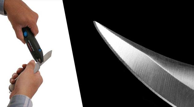 Fotka zľavy: Nevyhnutná súčasť domácnosti - univerzálna brúska Samurai Shark na akékoľvek náradie len za 2,49€. Dva typy brúsok z odolnej volfrámovo-karbidovej ocele s rúčkou i pre ľavákov!