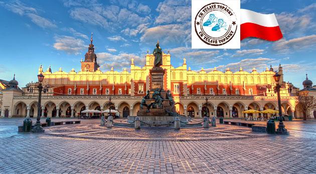Fotka zľavy: Spoznajte krásy Poľska! Prebádajte soľnú baňu Wieliczka, nádherný národný park v Ojcowe a kráľovské mesto Krakov počas jednodňového zájazdu s CK Túlavé topánky len za 39 €.