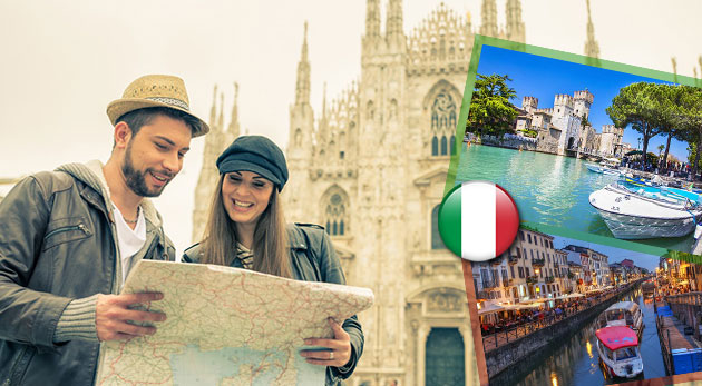 Fotka zľavy: Štvordňový autobusový zájazd do štýlového Milána - mesta módy, kultúry a futbalu, len za 139 €. Navštívite módne Miláno, historické Bergamo a romantické jazero Lago di Garda.
