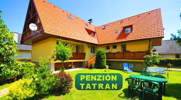 Fotka zľavy: Horská dovolenka v Penzióne Tatran na úpätí Vysokých Tatier s panoramatickým výhľadom na hory už od 25,90 € na 3 alebo 4 dni vrátane zapožičania bicyklov či zľavy do Aquacity Poprad.