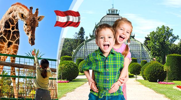 Fotka zľavy: Nezabudnuteľná návšteva Detského múzea, ZOO a zámku Schönbrunn - jednodňový zájazd len za 16,90 €. Urobte si s rodinkou výlet do čarovnej Viedne a potešte svoje ratolesti dňom plným zážitkov!