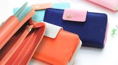 Zľava 54%: Elegantná dámska peňaženka Be Sweet len za 11,90 € s originálnym dizajnom a veľkorysým priestorom na uschovanie vašich cenností. Na výber v 6 trendy farebných prevedeniach.