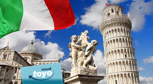 Fotka zľavy: Objavte jedinečné Taliansko v rámci 5-dňového zájazdu s CK Toyo Travel. Navštívte nádherné Miláno, Pisu a Rím len za 168 € s ubytovaním, raňajkami, zákonným poistením a službami sprievodcu.