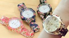 Zľava 50%: Krásne a elegantné dámske hodinky Geneva so sviežim kvetinovým alebo tigrovaným vzorom už od 9,90 €. Zaobstarajte si štýlový doplnok, vďaka ktorému už nebudete nikde meškať!