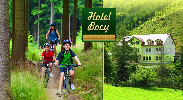 Fotka zľavy: Užite si naplno 3- alebo 4-dňový pobyt plný aktivít v Hoteli Bocy** na Kysuciach s raňajkami alebo polpenziou, vírivkou a biliardom už od 33 €. Dieťa do 15 rokov pobyt zdarma!