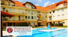 Zľava 51%: Úžasný oddych v Panoráma Wellness Apartman Hotel**** pri známom kúpeľnom komplexe Hungarospa už od 169 € pre dvoch s polpenziou, masážou, vstupom do wellness a kúpeľov. Dve deti do 6 rokov zadarmo!