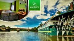 Zľava 72%: Oddychové 3 dni v magickej Prahe na vlnách Vltavy - ubytovanie v luxusnom boteli GreenYacht**** v Romantickej kajute už od 49,90 € vrátane raňajok. Možnosť pobytu s večerou a plavbou do centra mesta!