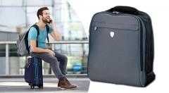 Zľava 52%: Elegantný pánsky batoh Tonino Lamborghini Savona len za 19,99 € pre každého aktívneho muža vždy na cestách. Vhodný aj ako príručná batožina.