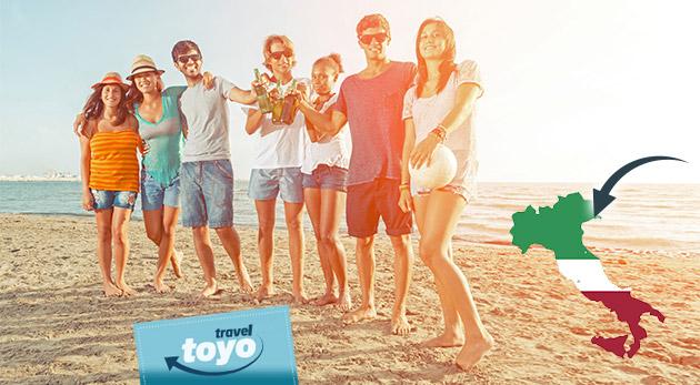 Fotka zľavy: Relax, slnenie na pláži a kúpanie sa v mori v obľúbenom talianskom letovisku Bibione len za 47 € vrátane dopravy aj poistenia. Vychutnajte si skvelý víkendový zájazd s CK Toyo Travel!