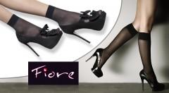 Zľava 44%: Luxusné ponožky Maja alebo podkolienky Pola od výrobcu Fiore pre všetky krásne nôžky. V balení 20 párov už od 9,99 €! Na výber rôzne farby.
