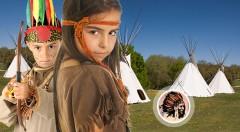 Zľava 33%: Letné dobrodružstvo v nefalšovanom indiánskom tábore iba za 159 € - doprajte vašim deťom radosť z pobytu v súlade s prírodou, počas ktorého sa stanú aspoň na 11 dní legendárnymi praobyvateľmi Ameriky!