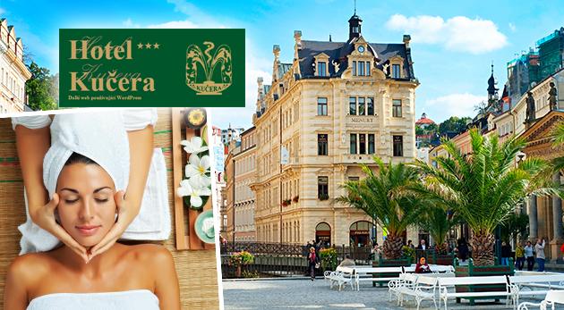 Fotka zľavy: Príďte si oddýchnuť do slávnych Karlových Varov - 2, 3 alebo 4 dni v Hoteli Kučera*** už od 48 € pre dvoch s bohatými raňajkami. Pri pobytoch s wellness váš čakajú blahodarné masáže a zábaly.
