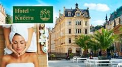 Zľava 49%: Príďte si oddýchnuť do slávnych Karlových Varov - 2, 3 alebo 4 dni v Hoteli Kučera*** už od 48 € pre dvoch s bohatými raňajkami. Pri pobytoch s wellness váš čakajú blahodarné masáže a zábaly.