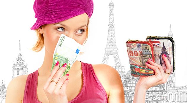 Zľava  Dámske pestrofarebné peňaženky, ktoré ukryjú
