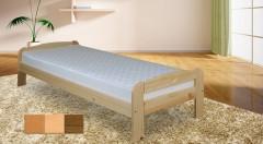 Zľava 26%: Kvalitná jednolôžková posteľ z borovicového masívneho dreva a s roštom už od 59 € - na výber i variant s matracom. Pretože dobrý spánok znamená ešte lepší deň!