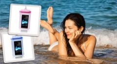 Zľava 60%: Praktické vodotesné puzdro na mobil či doklady len za 3,99 € pre všetky vaše cennosti v bezpečí a v suchu! Na výber v 3 farbách.