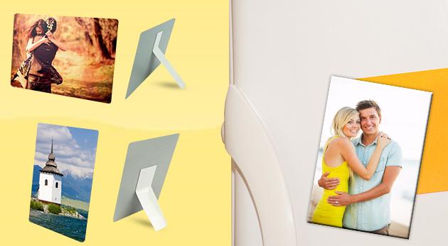 Fotka zľavy: Originálne plechové magnetky a fotografie s dlhou životnosťou a brilantnými farbami už od 2,50 €. Na výber v niekoľkých formátoch. Skvelý tip na milý darček.
