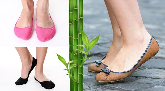 Fotka zľavy: Priedušné, pohodlné a navyše aj farebné bambusové ponožky do balerínok môžete mať len za 7,99 €. V balení 12 párov, ktoré absorbujú pot, nelepia sa a chladia.