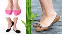 Zľava 64%: Priedušné, pohodlné a navyše aj farebné bambusové ponožky do balerínok môžete mať len za 7,99 €. V balení 12 párov, ktoré absorbujú pot, nelepia sa a chladia.