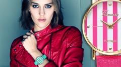 Zľava 51%: Štýlové dámske hodinky Geneva v námorníckom štýle len za 6,99 €. Vyberte si zo 6 trendy farieb a pripravte sa na leto!