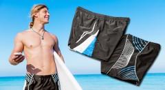 Zľava 50%: Pripravte sa na útok horúcich letných dní pánskymi boxerkovými plavkami značky Modera len za 7,49 €. Navyše majú aj minivrecko na drobné či kľúč a voliť môžete medzi 2 modelmi a rôznymi veľkosťami.