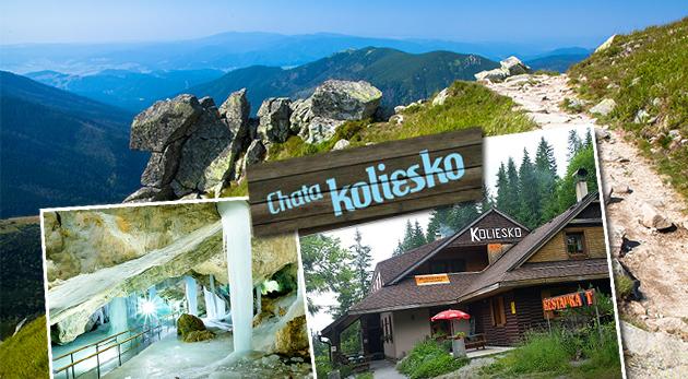 Fotka zľavy: Čarokrásne horské prostredie v rámci 3 alebo 4 dní v Chate Koliesko pod Chopkom si vychutnáte už od 49,50 €. Super polpenzia, množstvo zážitkov a športových či turistických aktivít v blízkom okolí.