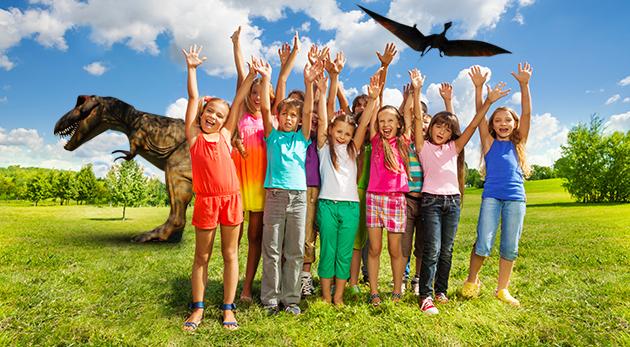 Fotka zľavy: Pobytový letný tábor CESTA DO PRAVEKU pre zvedavých prázdninujúcich už od 139,90 € v nádhernej prírode Belianskych Tatier. Dni plné nekončiacej zábavy, dobrodružstva a pátrania nielen po dinosauroch.