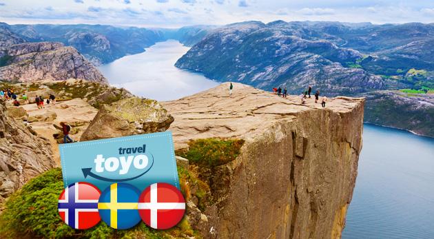 Fotka zľavy: Škandinávia na dosah - nechajte sa uchvátiť severskou krásou na 8-dňovom autobusovom zájazde s CK Toyo Travel len za 459 € vrátane ubytovania v hoteli s raňajkami, sprievodcu a poistenia.