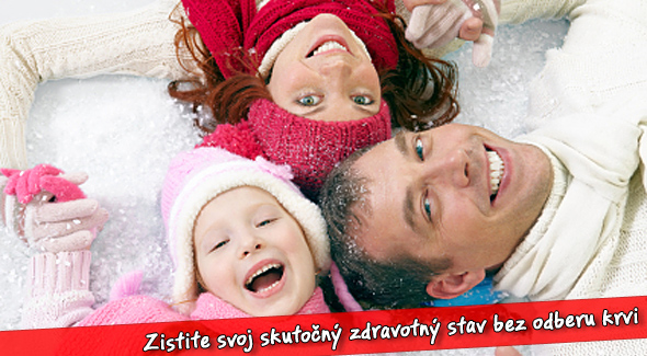 Fotka zľavy: Novoročná komplexná diagnostika vášho zdravotného stavu len za 19€. Vyšetrenie pomocou neinvazívnej analýzy krvi AMP so 60% zľavou. Využite zľavu až v 8 slovenských mestách!