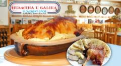 Zľava 50%: Dobre to oslávte na kačacom alebo husacom promočnom 4-chodovom menu až pre 5 osôb už od 52 € vo vychýrenej reštaurácii Husacina u Galika v Slovenskom Grobe.