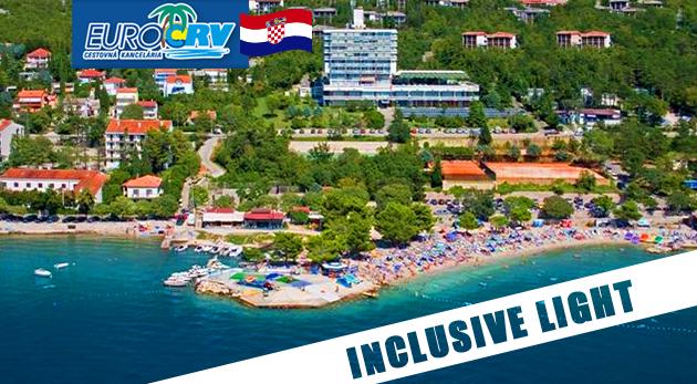 Fotka zľavy: Horúca letná dovolenka v chorvátskej Crikvenici v pavilónoch Omorika len za 260 €. V cene ubytovanie na 8 dní aj inclusive light! Navyše dieťa do 7 rokov zdarma.