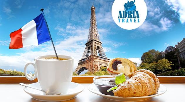 Fotka zľavy: Spoznajte jedno z najromantickejších miest na svete - Paríž, na 5-dňovom zájazde s CK Adria Travel iba za 159 € s hotelovým ubytovaním s raňajkami a službami sprievodcu.