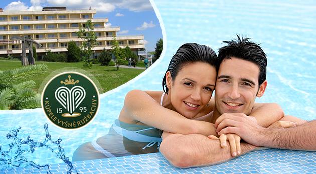 Fotka zľavy: Ten pravý letný wellness oddych už od 99 € v Hoteli Travertín vo Vyšných Ružbachoch s polpenziou alebo plnou penziou, pitnými kúrami, lekárskymi procedúrami či vstupmi do Vitálneho sveta.
