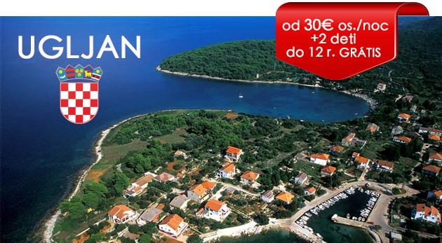 Fotka zľavy: Letná 8-dňová dovolenka v chorvátskom Hoteli Ugljan priamo na pláži už od 30 €/os./noc s polpenziou a až dvomi deťmi do 12 rokov zdarma. Ľubovoľný nástup na pobyt počas celého leta v rovnakej cene!