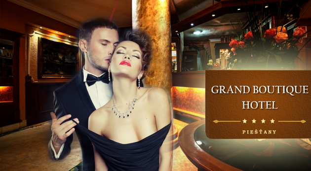 Fotka zľavy: Luxusné slnečné dni plné romantiky v elegantnom Grand Boutique Hoteli Sergijo**** v Piešťanoch iba za 115 € pre 2 osoby s bohatou polpenziou, masážou či neobmedzeným wellness a ďalšími bonusmi!