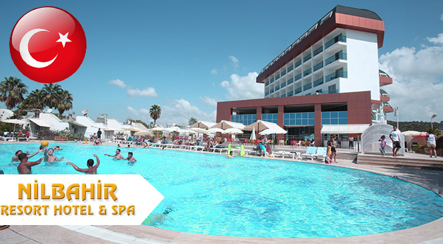 Fotka zľavy: Prežite 8 nezabudnuteľných dní v slnečnom Turecku v komplexe Nilbahir Resort Hotel & Spa***** už od 459 € vrátane ULTRA ALL INCLUSIVE a voľného využívania SPA centra. Termíny v TOP letnej sezóne!