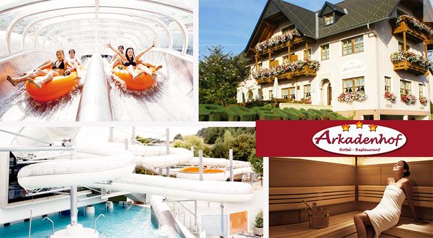 Fotka zľavy: Relax v prekrásnom Štajersku v Hoteli Arkadenhof*** už od 79 € pre dvoch s raňajkami, polpenziou či romantickou večerou a masážou. Ubytovanie v blízkosti najväčšieho aquaparku Rakúska!