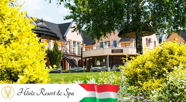 Fotka zľavy: Dokonalý relax v maďarskom hoteli Hévíz Resort & SPA pri slávnych kúpeľoch len za 120€ na 3 dni pre dvoch s ALL INCLUSIVE vrátane večerí pri sviečkach, voľným využívaním wellness a masážnou poukážkou.