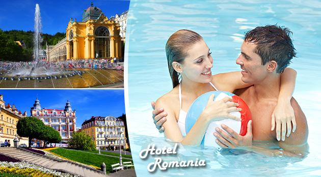 Fotka zľavy: Blahodarný 3-, 4- alebo 6-dňový relax v Mariánskych Lázňach v Hoteli Romania*** už od 109 € pre 2 osoby. V cene chutná polpenzia aj množstvo procedúr, ktoré pohladia vaše telo i myseľ.