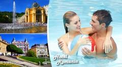 Zľava 52%: Blahodarný 3-, 4- alebo 6-dňový relax v Mariánskych Lázňach v Hoteli Romania*** už od 109 € pre 2 osoby. V cene chutná polpenzia aj množstvo procedúr, ktoré pohladia vaše telo i myseľ.