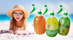Zľava 49%: Spríjemnite si letné horúčavy s praktickým rozprašovačom len za 3,49 €, ktorý využijete na polievanie kvetín či na pláži. V balení 3 kusy.