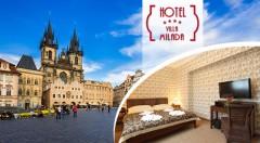 Zľava 45%: Zážitky pre všetky zmysly čakajte v štýlovom pražskom Boutique hoteli Villa Milada**** blízko centra mesta už od 169 € pre 2 osoby. V cene polpenzia i súkromný vstup do wellness!