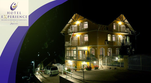 Fotka zľavy: Letný oddychový zážitok v maďarskom Hoteli Experience*** uprostred krásnej prírody Bukových hôr len za 145 € pre dvoch na 3 dni vrátane výbornej polpenzie, voľného vstupu do wellness a bazéna!