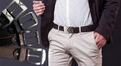 Zľava 74%: Kvalitný pánsky opasok z kože a s oceľovou prackou len za 4,99 €. Elegantný a nevyhnutný módny doplnok každého muža! Na výber 5 šik modelov a 3 veľkosti.
