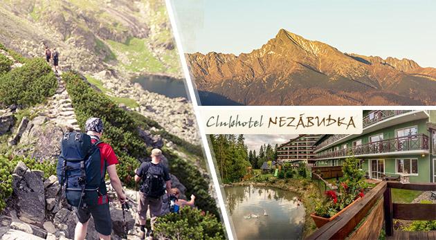 Fotka zľavy: Nabité letné víkendy na nezabudnutie v krásnych Vysokých Tatrách v Hotelovom rezorte Nezábudka len za 90 € s výstupom na Kriváň, All Inclusive, zábavou, wellness a ďalšími skvelými bonusmi!